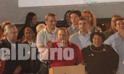 Zúccaro festejó el triunfo y reafirmó su decisión de presentarse en 2015