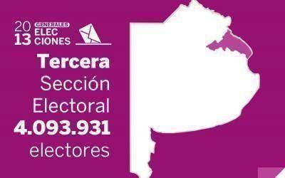 Elecciones Generales 2013: Resultados oficiales en la Tercera Sección Electoral