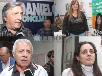 Recorrida por los búnker de todos los candidatos: entre festejos y decepciones
