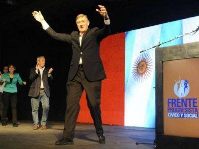 Binner cantó victoria en Santa Fe y el Frente Progresista ingresa cuatro diputados
