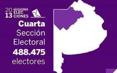Elecciones Generales 2013: Resultados oficiales en la Cuarta Sección Electoral