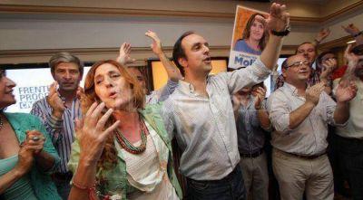 Festejo radical en el bunker de Adriana Molina