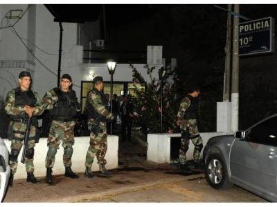 Atentado a Bonfatti: tres acusados y un operativo en la seccional décima