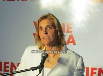 Vilma Baragiola ganó cuatro bancas en el Concejo Deliberante