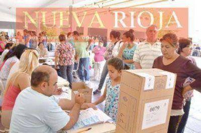 Los riojanos prefirieron ir a votar en horas de la mañana