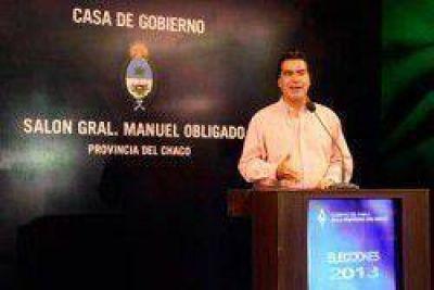 El gobernador Capitanich agradeció la gran participación ciudadana