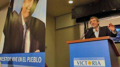 "Urribarri: ""sigamos enviando un mensaje a toda Argentina"""