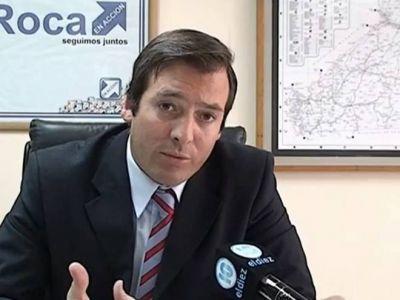 """Martín Soria: """"Recuperamos el gobierno con el gringo Soria, y contagiamos a la provincia con el color azul"""""""