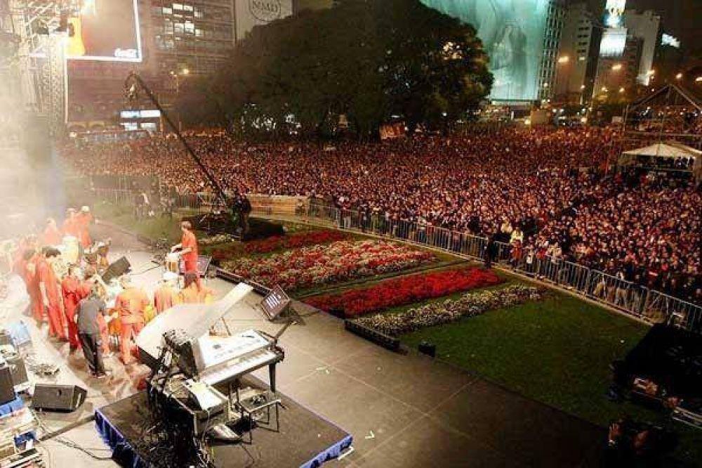 Con música, rumbo al Bicentenario