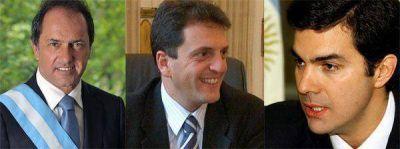 Estos resultados proyectan a Scioli a la presidencia, Massa a la gobernación y Urtubey por el tercer mandato