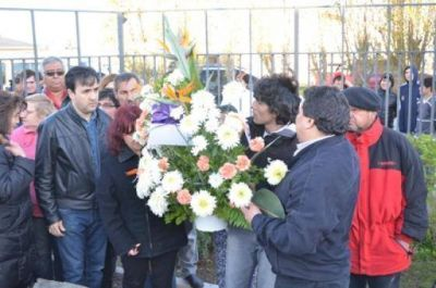 Acto de homenaje a tres años de la muerte de Kirchner