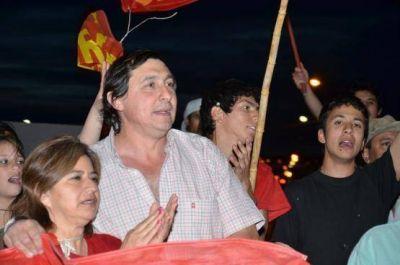 Omar Latini festej� el segundo lugar en Caleta Olivia