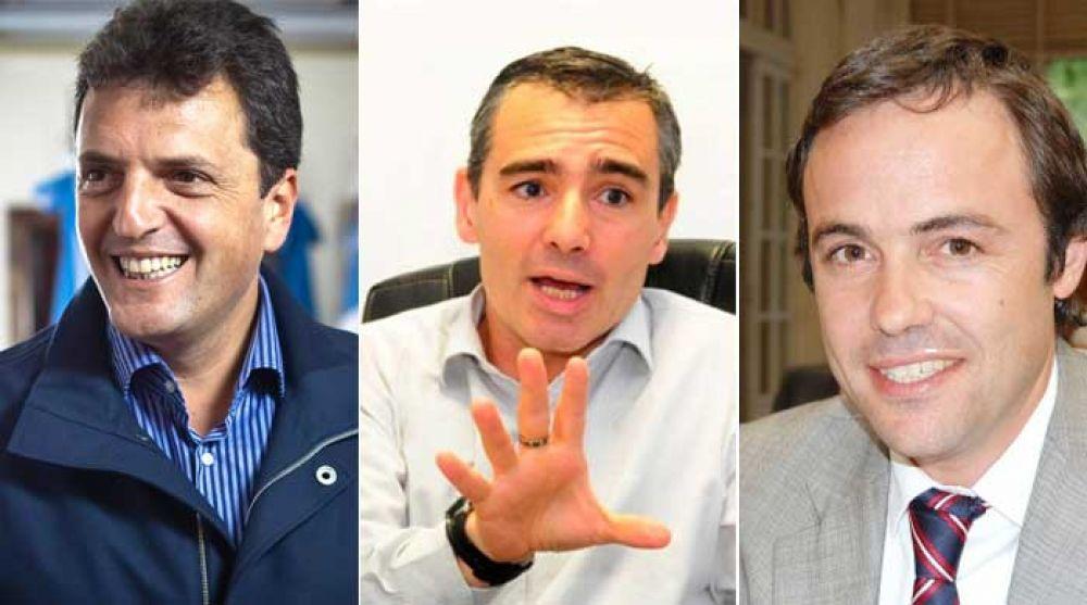 Sergio Massa, Marcelo Feliú y Julián Lemos, los ganadores en Bahía Blanca