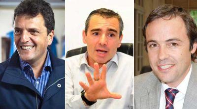Sergio Massa, Marcelo Feli� y Juli�n Lemos, los ganadores en Bah�a Blanca