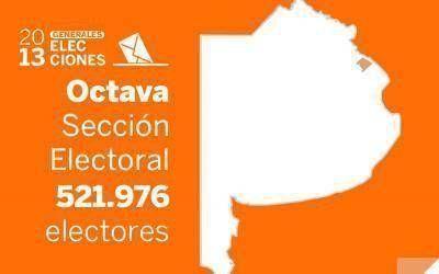 Elecciones Generales 2013: Resultados oficiales en la Octava Sección Electoral