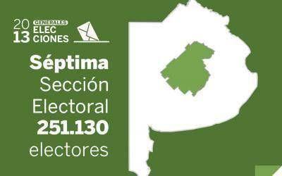Elecciones Generales 2013: Resultados oficiales en la Séptima Sección Electoral