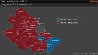 El kirchnerismo también perdió en Ezeiza, Lanús y Quilmes