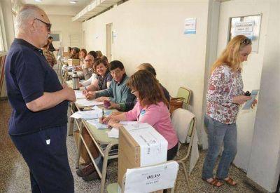 El pueblo pehuajense votó en un porcentaje destacable