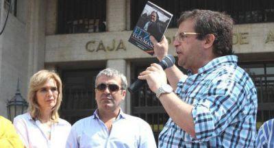 Cisneros celebró la elección de Cano y destacó el apoyo de los bancarios