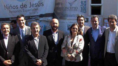 Cumbre de gobernadores oficialistas: se reunieron en San Juan y visitaron a Gioja