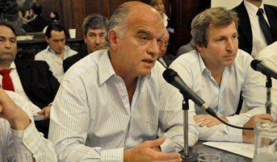 Legislatura: Grindetti detalló el Presupuesto