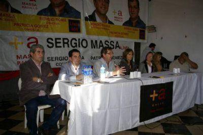El Frente Renovador impuso su lista de legisladores en la secci�n y en Ramallo