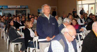 Puerto: se realizó la audiencia sobre la instalación del nuevo elevador
