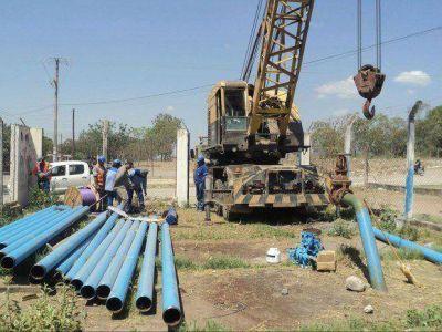 Habilitaron estación de bombeo de agua potable