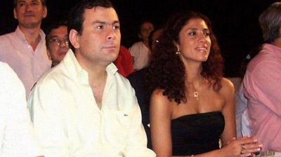 Tras el rev�s judicial, Gerardo Zamora propuso a su esposa como candidata a gobernadora