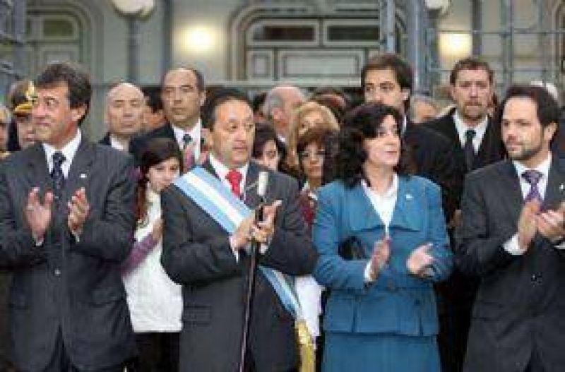 """Jaque criticó a su principal rival: """"Es un vicepresidente testimonial"""""""