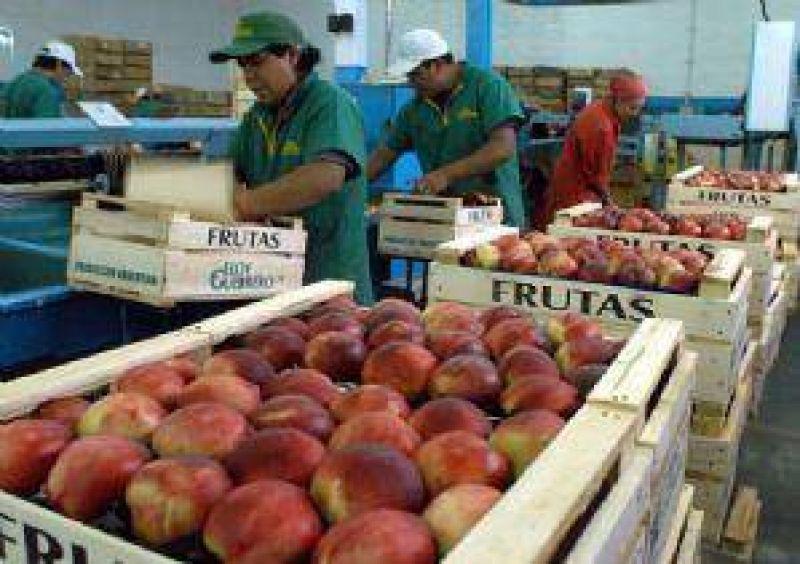 Productores de durazno critican a la industria y piden dolarizar sus precios