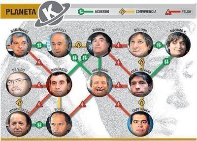 Mapa de la interna K: sin Cristina, pactos y traiciones hacia 2015