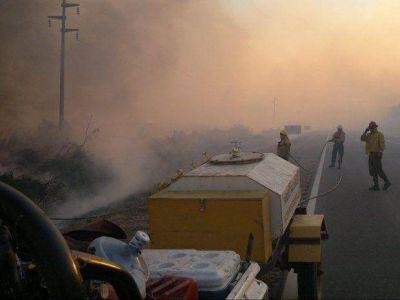 El incendio en Yuto ingresó al Parque Nacional Calilegua