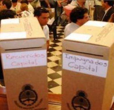 Diputados provinciales. El escrutinio definitivo ratificó al provisorio