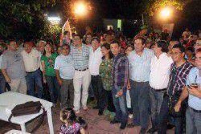 La Concertación-FORJA recordó los 30 años del triunfo de Alfonsín