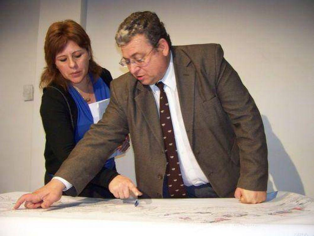 Cosentini analizó las necesidades de obra pública que tiene la ciudad
