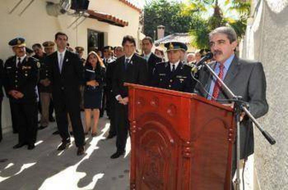 Inauguraron el Gabinete Científico Policial más importante del interior del país.