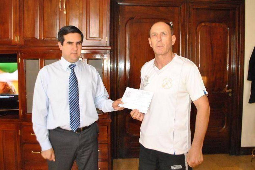 Decidido apoyo del Gobierno Provincial al taekwondo ITF
