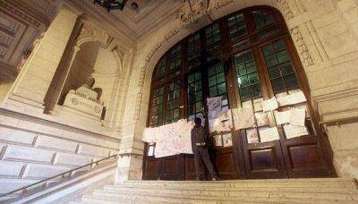 Tomas: sancionan alumnos y quedarán libres