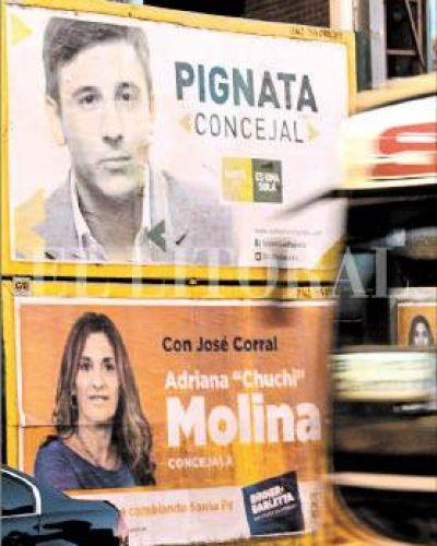 El municipio notificó a los partidos para que retiren su propaganda