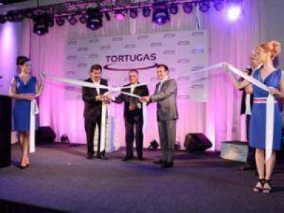 """Jesús Cariglino estuvo presente en la inauguración de """"Tortugas Eventos"""""""