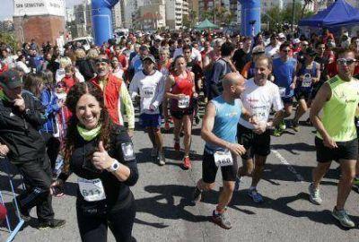 """Se corrió una competencia atlética en el marco de los festejos por el """"Día del Bancario"""""""