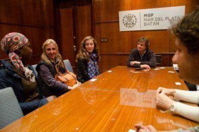 Estudiantes de Harvard visitaron Mar del Plata