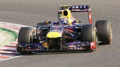 Vettel lidera el Gran Premio de Abu Dabi de Fórmula 1