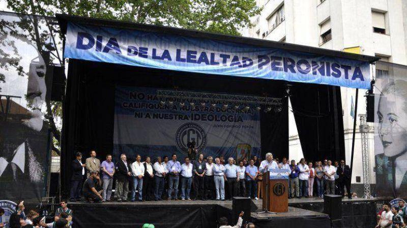 Moyano prepara una nueva movilización a Plaza de Mayo
