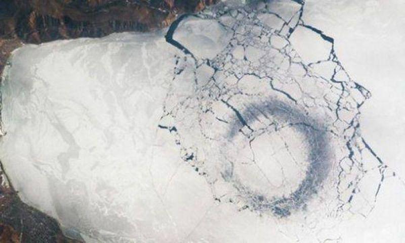 Preocupan imágenes capturadas por la NASA
