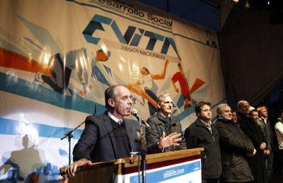 La fiesta del Deporte Social: comienza en la ciudad la final de los Juegos Evita