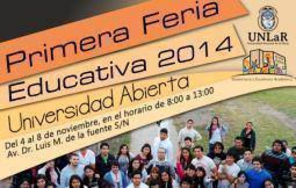 UNLaR promocionará su oferta académica con una 'Feria Educativa'