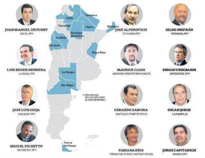 El resultado electoral complicó el futuro de varios gobernadores. El caso de Salta