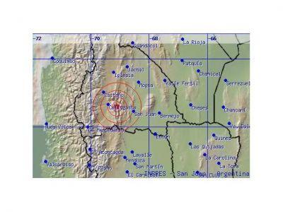 Hubo un leve movimiento sísmico con epicentro en Calingasta